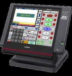 caisse tactile restaurant Casio QT6100