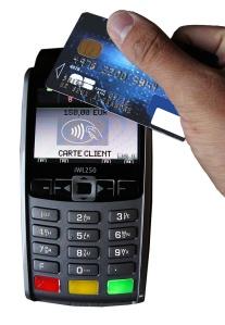 Paiement sans contact carte bancaire