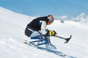 stabilisateurs ski assis