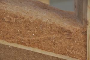 isolation thermique combles perdus avec laine de bois