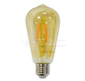 ampoule LED E27 teintée ambre
