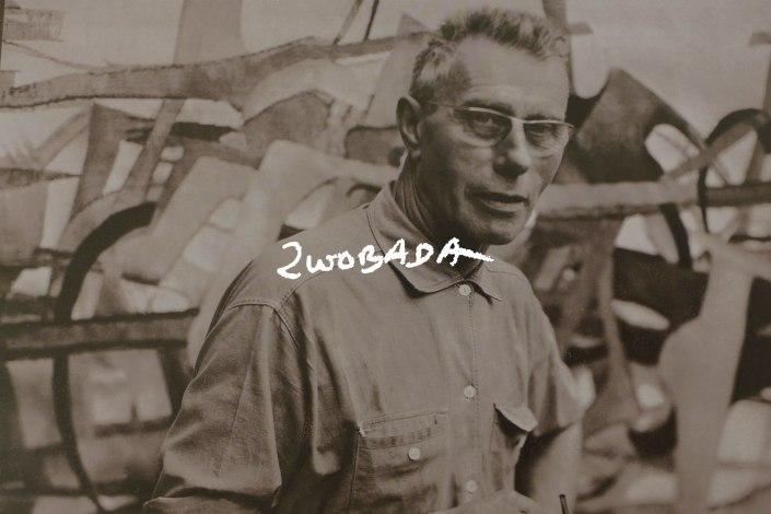 le sculpteur français Jacques ZWOBADA