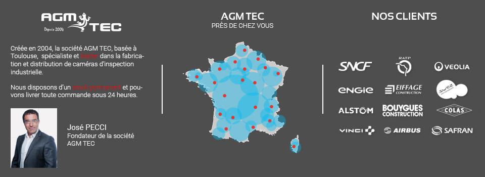 caméras d'inspection AGM-TEC en France